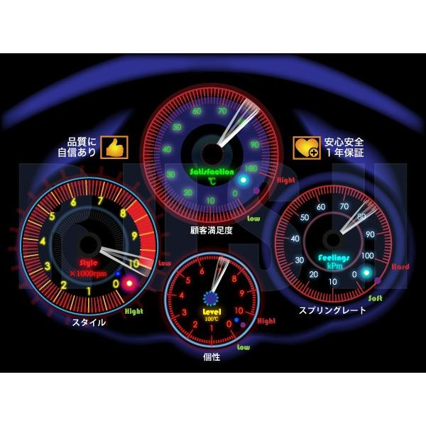 RUSH 車高調 クラウン JZS151 JZS155 GS151 車高短 モデル 選べるレート フルタップ車高調 全長調整式車高調 減衰力調整付 RUSH Damper SEDAN CLASS MAQSモデル|transport5252|07