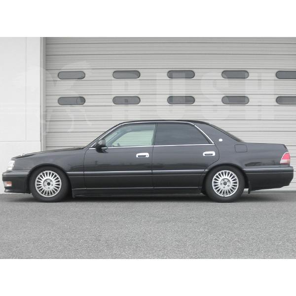 RUSH 車高調 クラウン JZS151 JZS155 GS151 前期 後期 車高短 モデル フルタップ車高調 全長調整式車高調 減衰力調整付 RUSH Damper SEDAN CLASS|transport5252|05