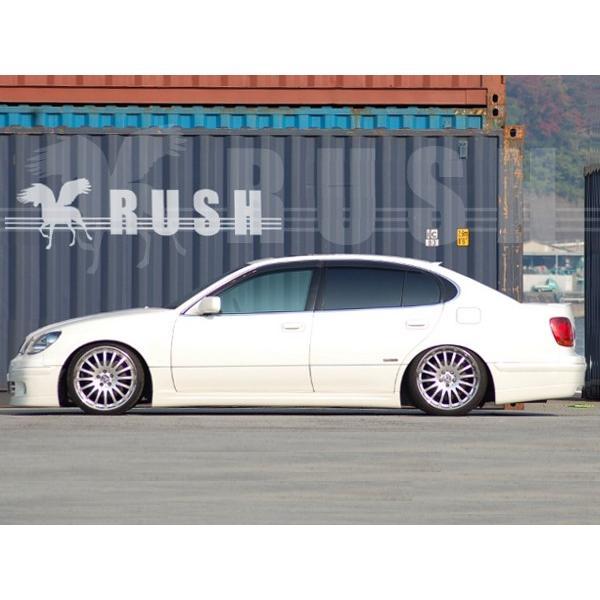 RUSH 車高調 アリスト JZS161 JZS160 車高短 モデル 選べるレート フルタップ車高調 全長調整式車高調 減衰力調整付 RUSH Damper SEDAN CLASS MAQSモデル|transport5252|05