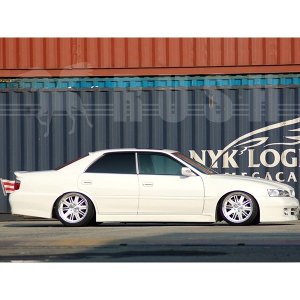 RUSH 車高調 チェイサー JZX100 JZX101 GX100 前期 後期 車高短 モデル フルタップ車高調 全長調整式車高調 減衰力調整付 RUSH Damper SEDAN CLASS|transport5252|05