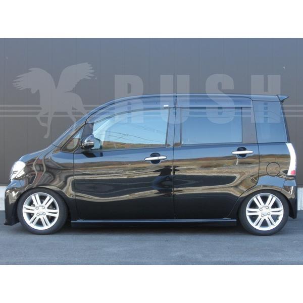 RUSH 車高調 タントエグゼ カスタム L455S 前期 後期 車高短 モデル フルタップ車高調 全長調整式車高調 減衰力調整付 RUSH Damper COMFORT CLASS|transport5252|05