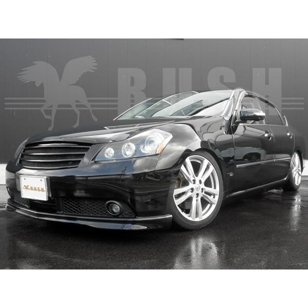 RUSH 車高調 フーガ Y50 PY50 車高短 モデル 選べるレート フルタップ車高調 全長調整式車高調 減衰力調整付 RUSH Damper LUXURY CLASS MAQSモデル transport5252 04