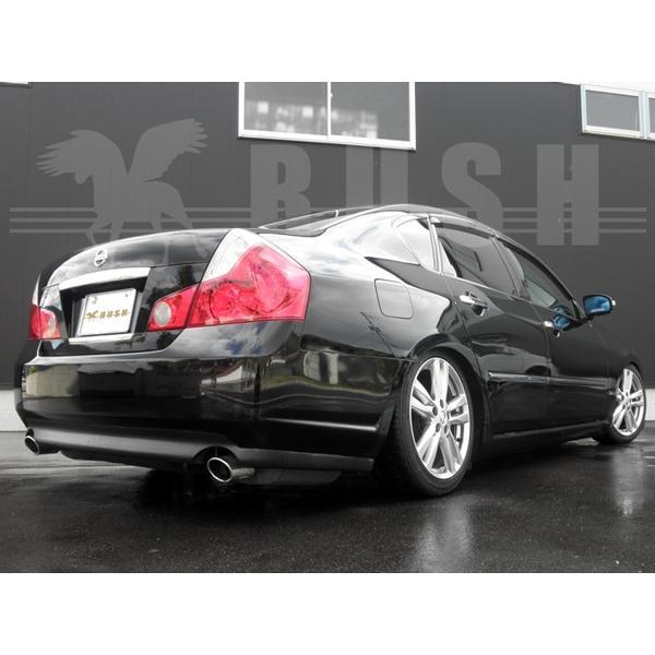 RUSH 車高調 フーガ Y50 PY50 車高短 モデル 選べるレート フルタップ車高調 全長調整式車高調 減衰力調整付 RUSH Damper LUXURY CLASS MAQSモデル transport5252 05