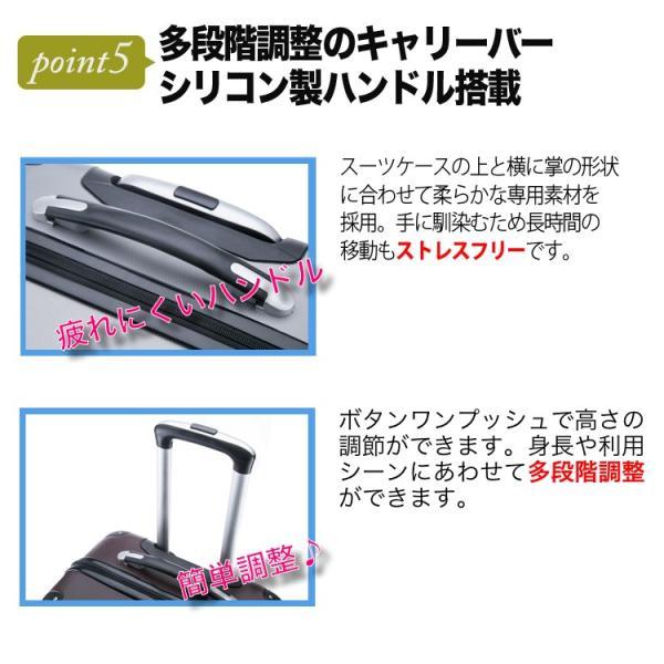 安心3年保証 超軽量スーツケース コインロッカー 100席未満機内持込 TSAロック搭載 国内旅行 キャリーケース キャリーバッグ 小型 かわいい トラベルデパート|travel-depart|06