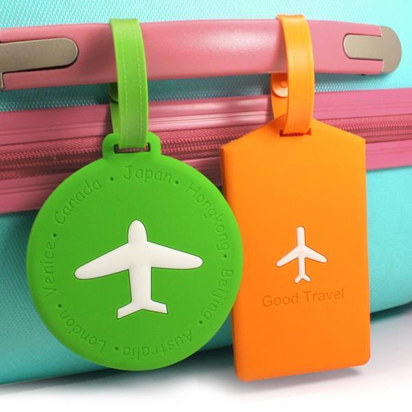 ネーム タグ スーツケース ラゲージ トラベル 旅行 用品 名札 カラフル 修学旅行 カバン