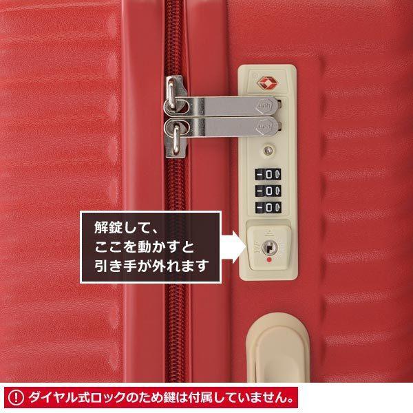エース HaNT ハント マイン 限定色 (75L) ファスナータイプ スーツケース 4〜5泊用 手荷物預け入れ無料規定内 06053|travel-goods-toko|04