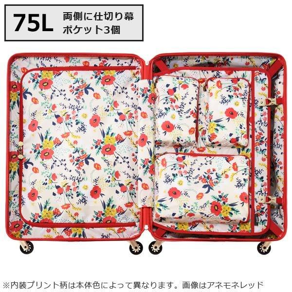 エース HaNT ハント マイン 限定色 (75L) ファスナータイプ スーツケース 4〜5泊用 手荷物預け入れ無料規定内 06053|travel-goods-toko|05