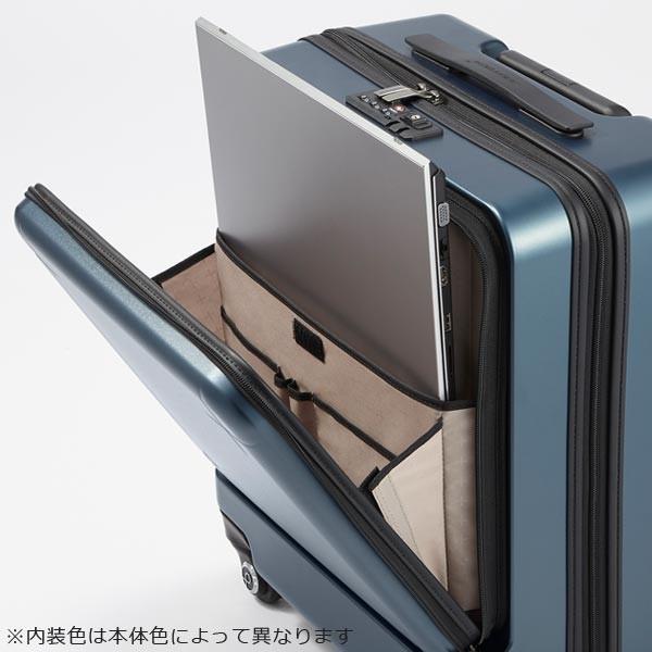 プロテカ スーツケース マックスパス3 (40L) キャスターストッパー付き フロントポケット付き ファスナータイプ 2〜3泊用 機内持ち込み可能 02961|travel-goods-toko|03