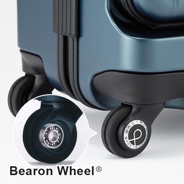 プロテカ スーツケース マックスパス3 (40L) キャスターストッパー付き フロントポケット付き ファスナータイプ 2〜3泊用 機内持ち込み可能 02961|travel-goods-toko|08