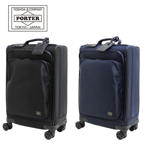 吉田カバン PORTER ポータータイム トロリーバッグS (25L) 1〜2泊向け 機内持ち込み可能 フロントポケット付き ソフトキャリー 日本製 655-17871 travel-goods-toko