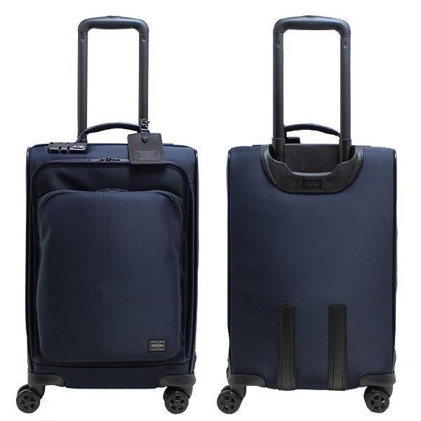 吉田カバン PORTER ポータータイム トロリーバッグS (25L) 1〜2泊向け 機内持ち込み可能 フロントポケット付き ソフトキャリー 日本製 655-17871 travel-goods-toko 02