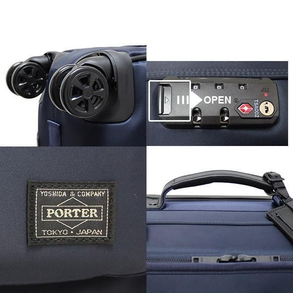 吉田カバン PORTER ポータータイム トロリーバッグS (25L) 1〜2泊向け 機内持ち込み可能 フロントポケット付き ソフトキャリー 日本製 655-17871 travel-goods-toko 04