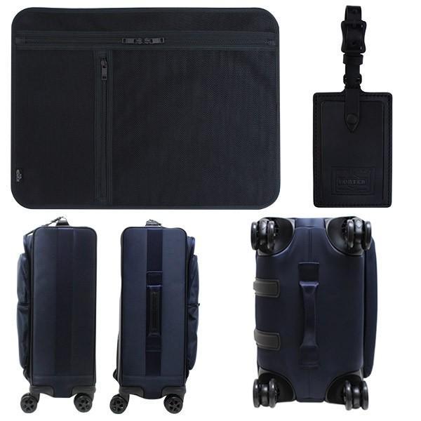 吉田カバン PORTER ポータータイム トロリーバッグS (25L) 1〜2泊向け 機内持ち込み可能 フロントポケット付き ソフトキャリー 日本製 655-17871 travel-goods-toko 05