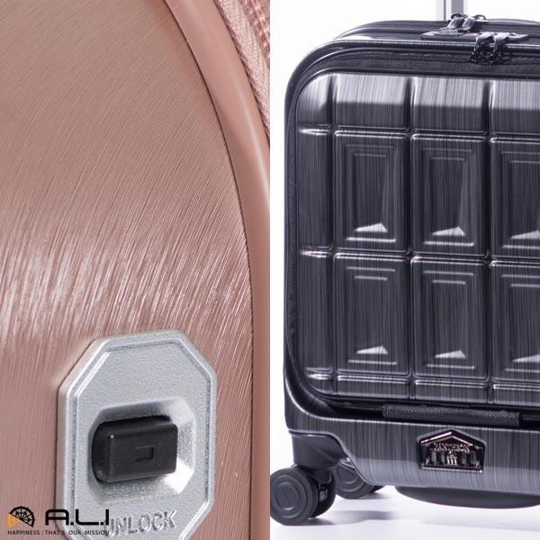 アジア・ラゲージ パンテオン (22L) フロントオープン付き ファスナータイプ スーツケース 1泊用 コインロッカー収納可能 LCC機内持ち込み可能 PTS-4006|travel-goods-toko|13