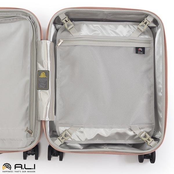 アジア・ラゲージ パンテオン (22L) フロントオープン付き ファスナータイプ スーツケース 1泊用 コインロッカー収納可能 LCC機内持ち込み可能 PTS-4006|travel-goods-toko|06
