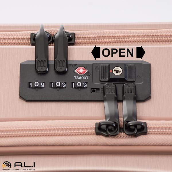 アジア・ラゲージ パンテオン (22L) フロントオープン付き ファスナータイプ スーツケース 1泊用 コインロッカー収納可能 LCC機内持ち込み可能 PTS-4006|travel-goods-toko|09