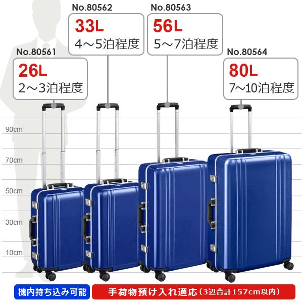 ゼロハリバートン Classic Polycarbonate 2.0 Trolley 22inch (33L) 80562 フレームタイプ スーツケース 手荷物預け入れ無料規定内|travel-goods-toko|06