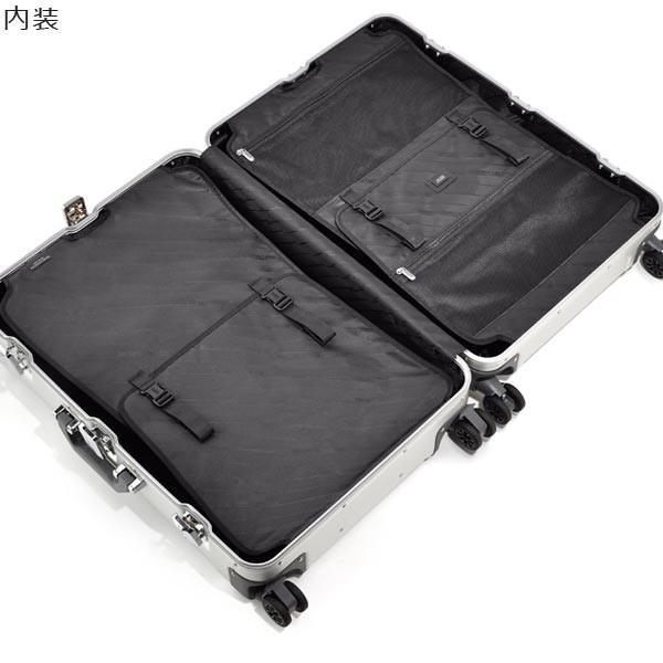 ゼロハリバートン Geo Aluminum 3.0 Trolley 26inch (68L) 94257-01 アルミニウム製 スーツケース 4輪 ブラック 手荷物預け入れ無料規定内|travel-goods-toko|05
