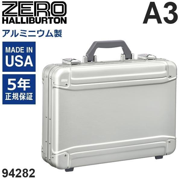 ゼロハリバートン Geo Aluminum 3.0 Attache 94282-05 アルミニウム製 アタッシェケース シルバー A3サイズ