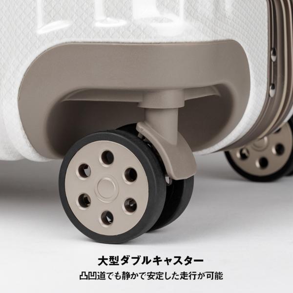 スーツケース キャリーケース キャリーバッグ トランク 中型 軽量 Mサイズ おしゃれ 静音 ハード フレーム ビジネス 8輪 5509-57 travelworld 09