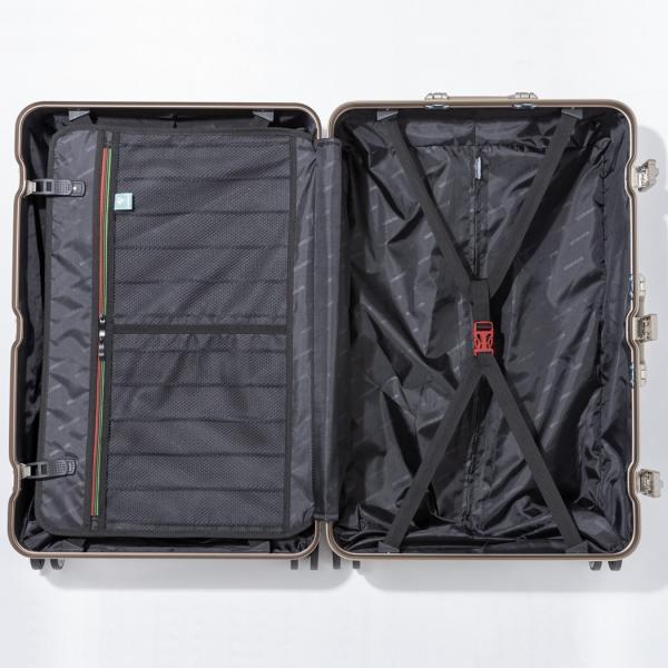 スーツケース キャリーケース キャリーバッグ トランク 大型 軽量 Lサイズ おしゃれ 静音 ハード フレーム ビジネス 8輪 5509-70|travelworld|12