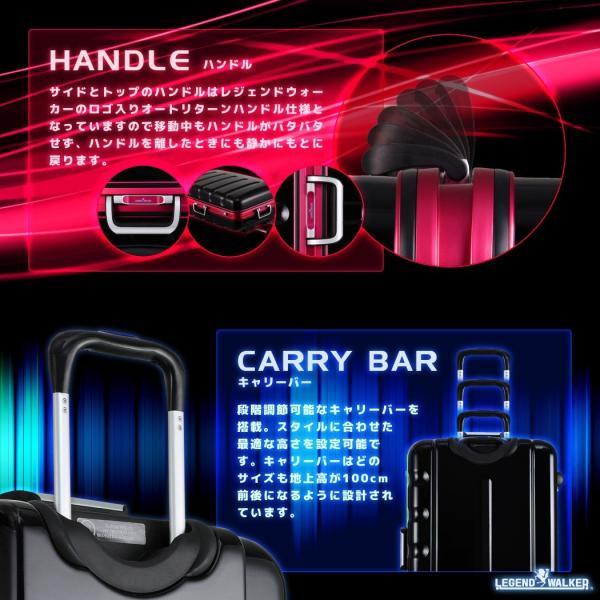 スーツケース キャリーケース キャリーバッグ トランク 中型 軽量 Mサイズ おしゃれ 静音 ハード フレーム ビジネス 6016-60|travelworld|11