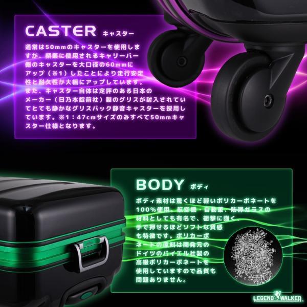 スーツケース キャリーケース キャリーバッグ トランク 中型 軽量 Mサイズ おしゃれ 静音 ハード フレーム ビジネス 6016-60|travelworld|10