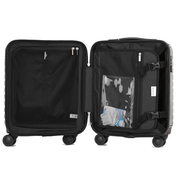 アウトレット スーツケース キャリーケース キャリーバッグ エース 小型 軽量 機内持ち込み おしゃれ 静音 RIMINI ハード ファスナー AE-06511|travelworld|06