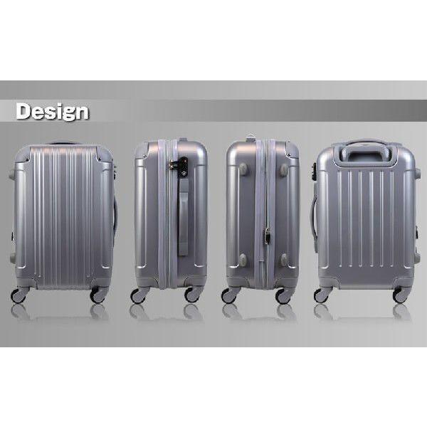 アウトレット スーツケース キャリーケース キャリーバッグ トランク 小型 機内持ち込み 軽量 おしゃれ 静音 ハード ファスナー 女子 かわいい B-5082-48 travelworld 03