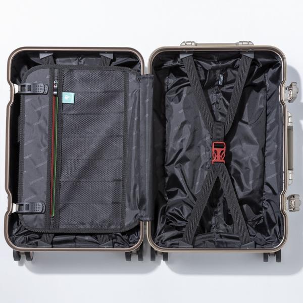 アウトレット スーツケース キャリーケース キャリーバッグ トランク 小型 軽量 Sサイズ 機内持ち込み おしゃれ 静音 ハード フレーム ビジネス 8輪 B-5509-48|travelworld|13