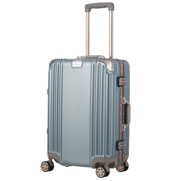 アウトレット スーツケース キャリーケース キャリーバッグ トランク 中型 軽量 Mサイズ おしゃれ 静音 ハード フレーム ビジネス 8輪 B-5509-57 travelworld 02