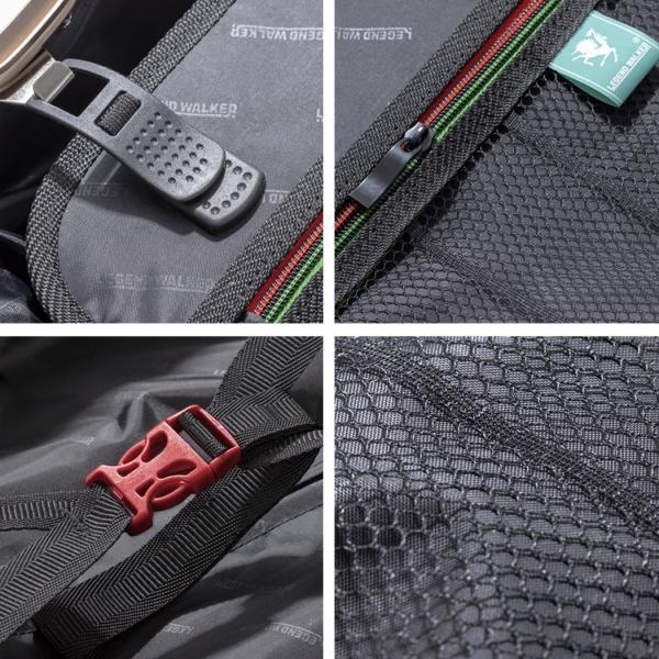 アウトレット スーツケース キャリーケース キャリーバッグ トランク 中型 軽量 Mサイズ おしゃれ 静音 ハード フレーム ビジネス 8輪 B-5509-57 travelworld 14