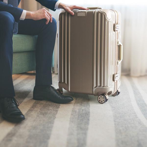 アウトレット スーツケース キャリーケース キャリーバッグ トランク 中型 軽量 Mサイズ おしゃれ 静音 ハード フレーム ビジネス 8輪 B-5509-57 travelworld 04