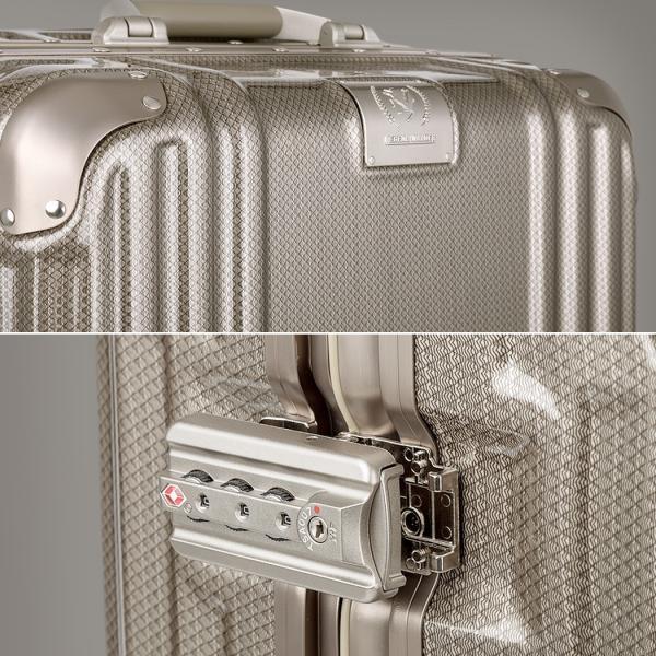 アウトレット スーツケース キャリーケース キャリーバッグ トランク 中型 軽量 Mサイズ おしゃれ 静音 ハード フレーム ビジネス 8輪 B-5509-57 travelworld 06