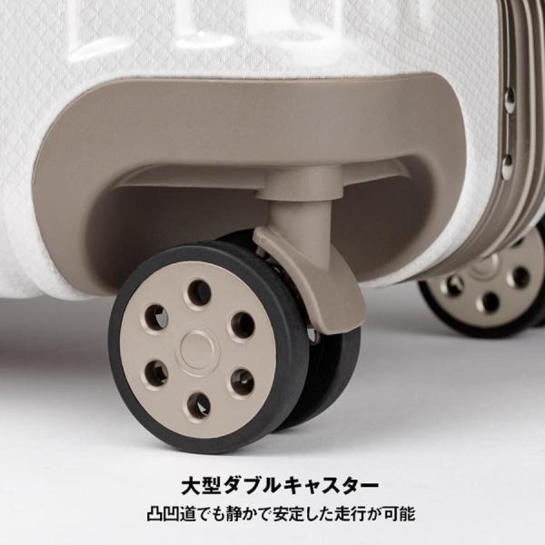 アウトレット スーツケース キャリーケース キャリーバッグ トランク 中型 軽量 Mサイズ おしゃれ 静音 ハード フレーム ビジネス 8輪 B-5509-57 travelworld 09