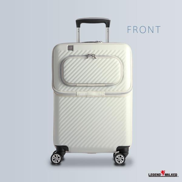 アウトレット スーツケース キャリーケース キャリーバッグ トランク 小型 機内持ち込み 軽量 おしゃれ 静音 ファスナー ビジネス パソコン収納 B-6024-48|travelworld|04
