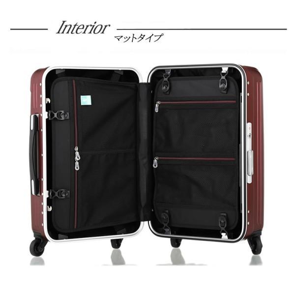 アウトレット スーツケース キャリーケース キャリーバッグ トランク 小型 機内持ち込み 軽量 おしゃれ 静音 ハード フレーム B-T6201-49 travelworld 08