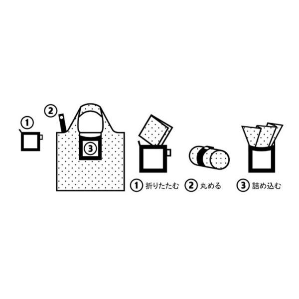 エコバッグ 折りたたみバッグ LOQI-BAG-Q2|travelworld|02