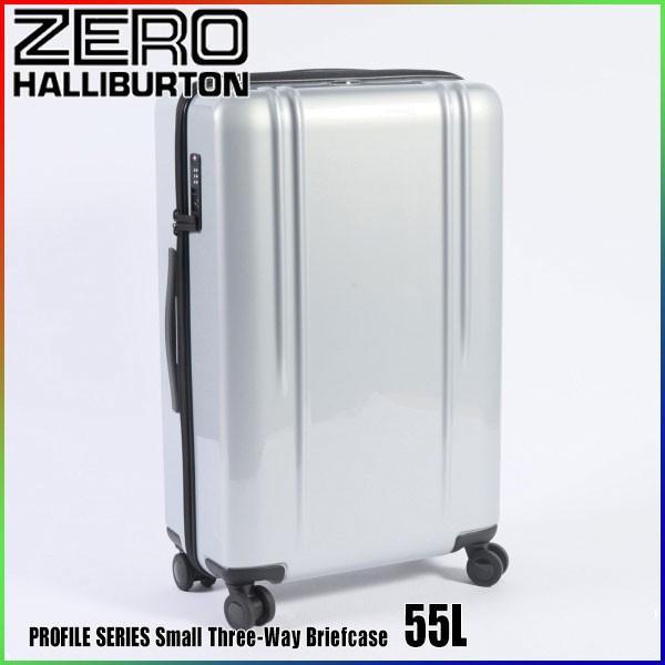 """ゼロハリバートン ZRL ポリカーボネイト 26"""" Lightweight Spinner Travel Case 55L ZTL26 Silver 80583 ZRL POLYCARBONATEスーツケース  ZERO HALLIBURTON"""