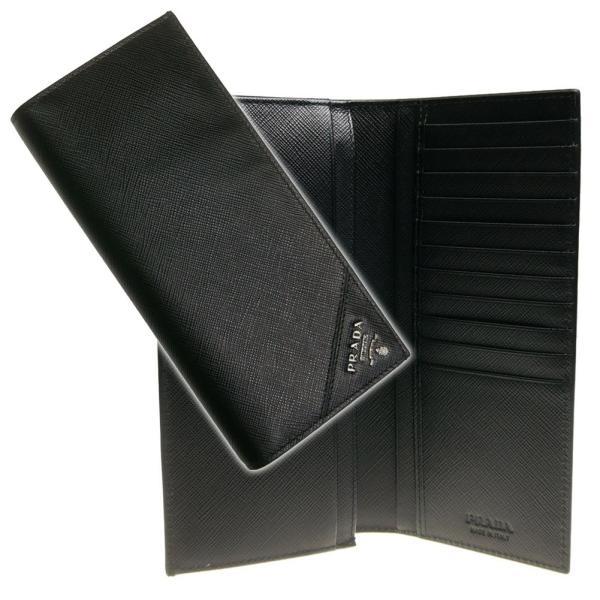 e30c8f9c05e4 PRADA プラダ メンズ二つ折長財布(小銭入れ付き)SAFFIANO METAL / 2MV836