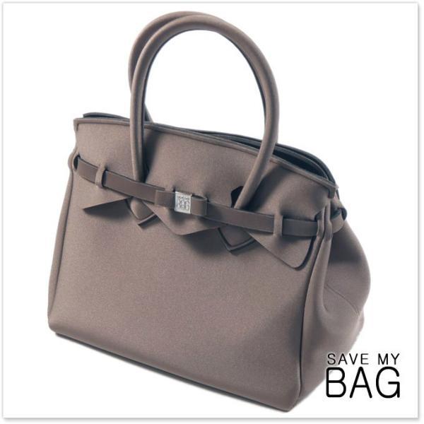 SAVE MY BAG セーブマイバッグ Mサイズハンドバッグ ミス MISS METALLICS / 10204N LY-ME メタリックブロンズ