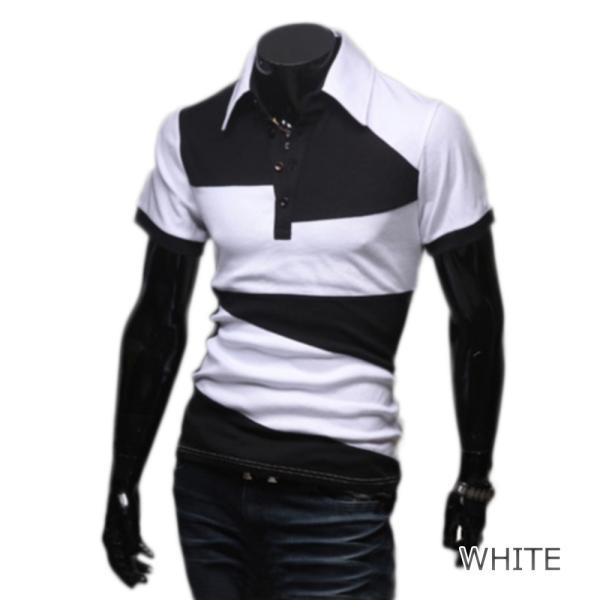 ゴルフウェア メンズ ポロシャツ 半袖 デザイン|treasure-box-okinawa|04