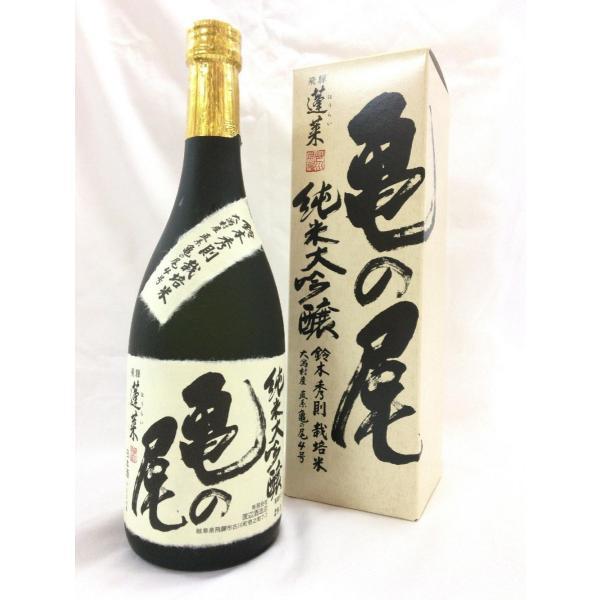 渡辺酒造 蓬莱 亀の尾 純米大吟醸 火入れ 720ml|treasureisland|02
