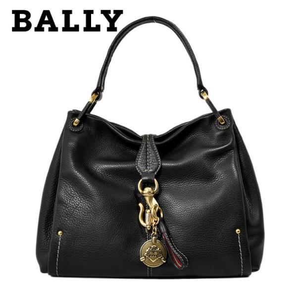 バリー BALLY ハンド バッグ 6183064 MERRI-SM.NT/280 BLACK CALF PLAIN ブラック 黒 カーフ レザー