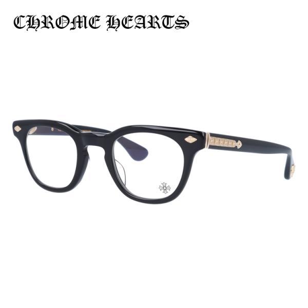 クロムハーツ CHROME HEARTS PCメガネ 老眼鏡 伊達 フレーム ブランド おしゃれ メガネ めがね PANTY HO BK-GP 47