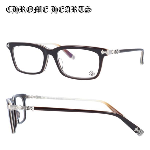 クロムハーツ メガネフレーム アジアンフィット CHROME HEARTS FUN HATCH-A BRBBR Brown Bone Brown 54