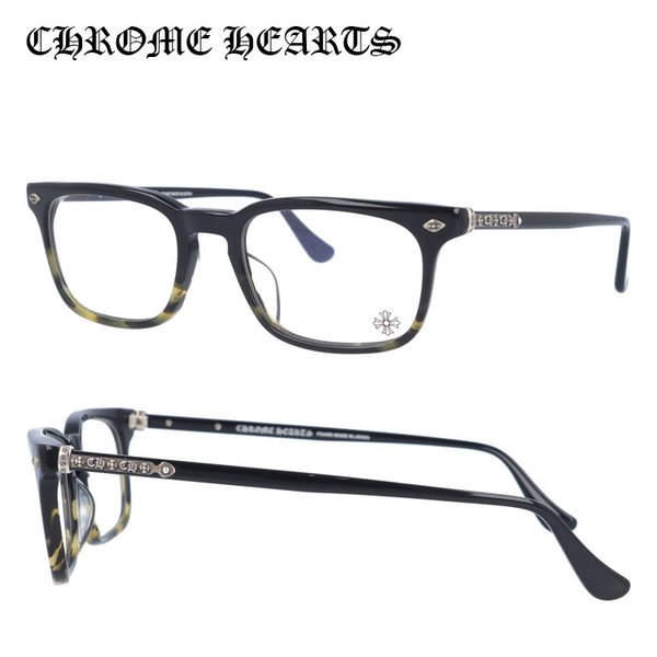 クロムハーツ CHROME HEARTS PCメガネ 老眼鏡 伊達 フレーム ブランド おしゃれ メガネ めがね STIFFIE BMZ Black Maize 52