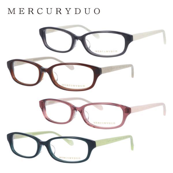 マーキュリーデュオ メガネフレーム かわいい ブランド レディース 女性 アジアンフィット MERCURYDUO MDF8007 全4カラー 52