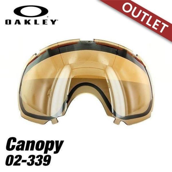 訳あり アウトレット オークリー ゴーグル 交換用レンズ OAKLEY キャノピー 02-339 Canopy Black Iridium 2014・2015モデル