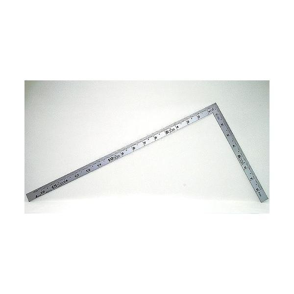 シンワ 曲尺 厚手広巾シルバー 1尺6寸 表裏同目 10456